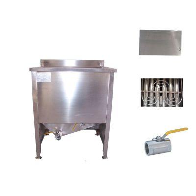 供应ZYD-500型油水混合油炸机