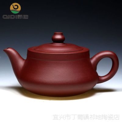 厂家特价批发正品紫砂茶壶 宜兴全手工紫砂壶原矿紫泥曲壶德钟