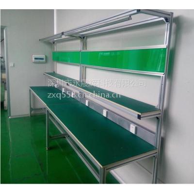 深圳工作台厂家 防静电工作台 焊接工作台 带灯管单面台订做