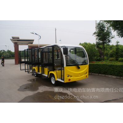 供应重庆封闭式电动旅游观光车,重庆电动观光车销售