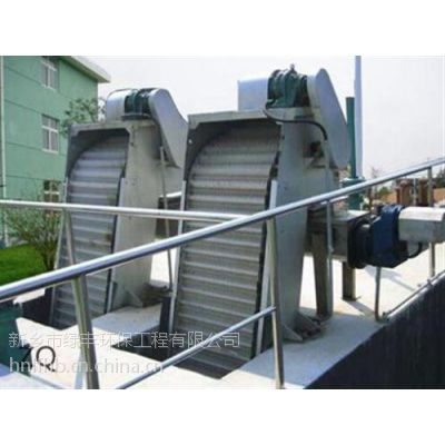 雨水格栅除污机|格栅除污机|绿丰环保