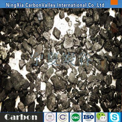 宁夏增碳剂碳90粒度1-3/1-5毫米 煅烧无烟煤增碳剂 钢厂铸造用增炭剂