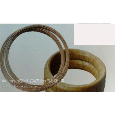 超迪机械(在线咨询)、纸包钢线包胶钢线、纸包钢线包胶钢线厂家