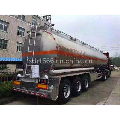 供应盛润50立方铝合金汽柴油罐车,40吨油罐车价格,40吨油罐车厂家