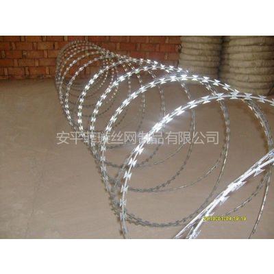 供应用什么材料圈围墙既安全又经济?刀片刺绳