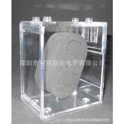 供应TC-9268透明塑胶手表包装盒批发 tc9268有机玻璃透明手表盒塑料