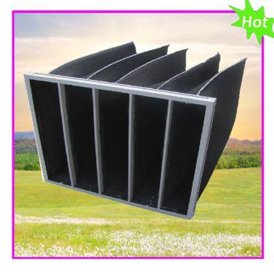 供应四川活性炭过滤器厂家 活性 碳板过 滤器活 性炭袋式过滤 器
