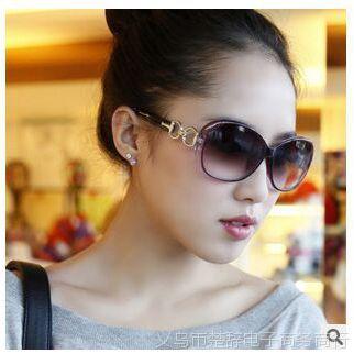 2015 欧美女士太阳镜潮流墨镜蛤蟆镜女款大框太阳眼镜一件代发