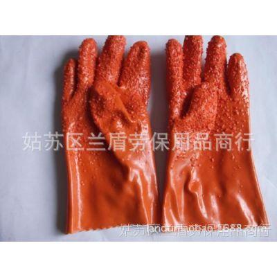 东亚807止滑浸塑手套 耐磨耐酸碱耐油 防腐蚀 加厚手套批发