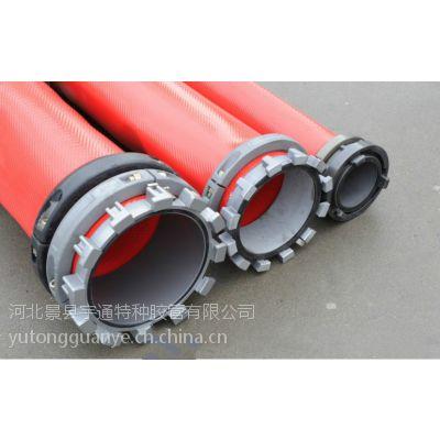 衡水厂家现货供应增强聚氨酯管 聚氨酯扁平软管 输水 输油 纤维编织