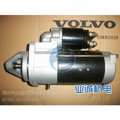 沃尔沃发电机TAD732GE启动马达3601168业诚批发