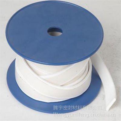 厂家直销优质四氟弹性带 背胶四氟带 四氟延展垫片腾宇密封