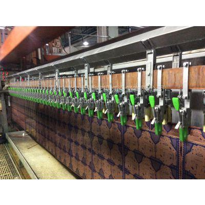 供应深圳德尔福电镀设备厂自动电镀镀铜生产线PCB快速夹具