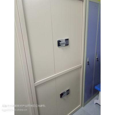 供应新疆国宝电子锁HG-009型双节电子保密文件柜