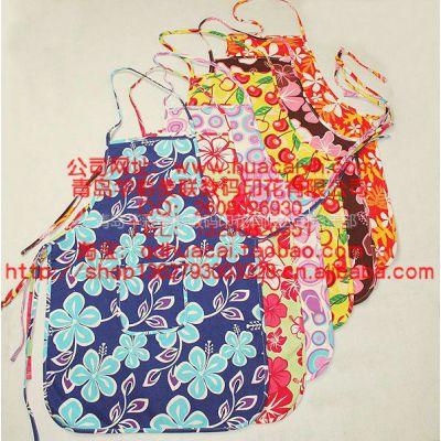 供应青岛印花厂围裙热升华转移数码印花加工 围裙热转印印花价格