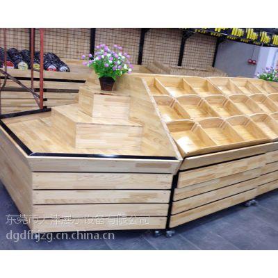 大沣DF-015热销大卖场木制品货架展柜进品商品和休闲食品货架尺寸层高可定制