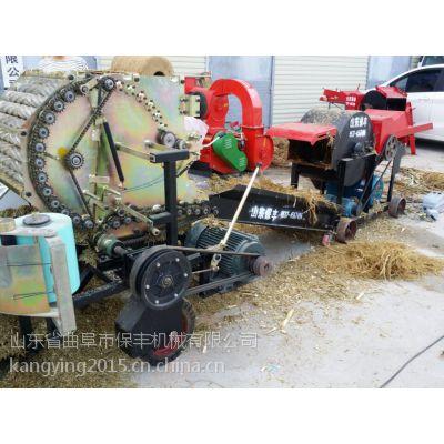 干湿两用切草机 小型铡草机 切猪草的机器 曲阜保丰