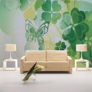 供应肌理纹PVC墙纸壁画基材|深圳扬天个性化现代中国风墙纸壁画定制 数码打印材料 客厅沙发背景墙