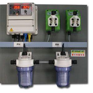 供应投药泵 加药装置 泳池监测 水质分析仪