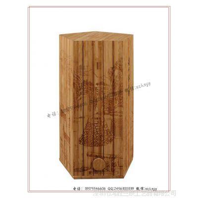 【工厂定制】竹子酒盒 竹制酒盒 酒包装竹盒 红酒包装竹盒生产