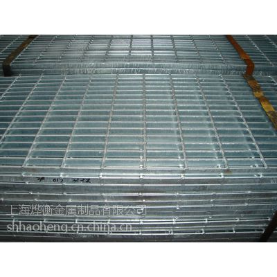 供应上海钢格栅 格栅板价格 长方形钢格板
