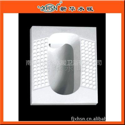 新华水暖供应 卫生洁具陶瓷蹲便 工程用蹲便器 质优价宜蹲便池