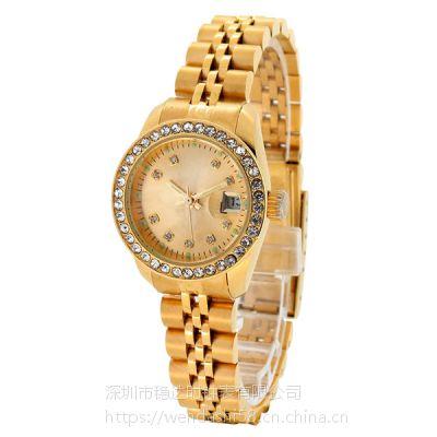 手表厂家 30年实力oem代工 不锈钢石英手表