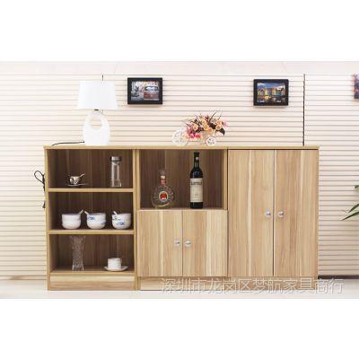 供应特价现代餐边柜储物收纳柜 微波炉架 餐具收纳厨房柜子