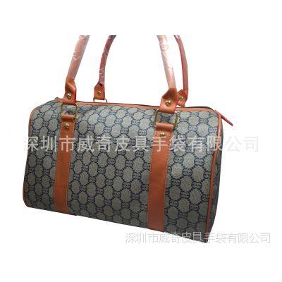 威奇厂家直销新款时尚旅行袋/时尚休闲包/手提女包批发/品牌女包工厂定制