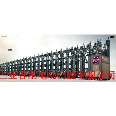 全国十大品牌电动伸缩门 海南三亚电动门系列 专业定制安装维修价格公道