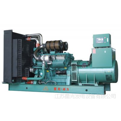工厂生产销售 星光柴油发电机组250KW通柴发电机组