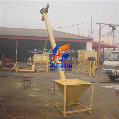 钢管式螺旋输送机直销,松散粉料锯末绞龙提升机,圆管式加料提升机