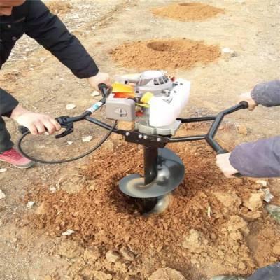 螺旋挖坑机厂家 新款两冲螺旋挖坑机规格 润丰
