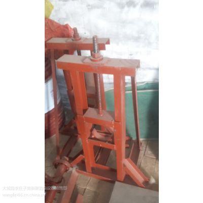 河北高新牌铁皮支架 手动上料架 五吨式不锈钢开卷机