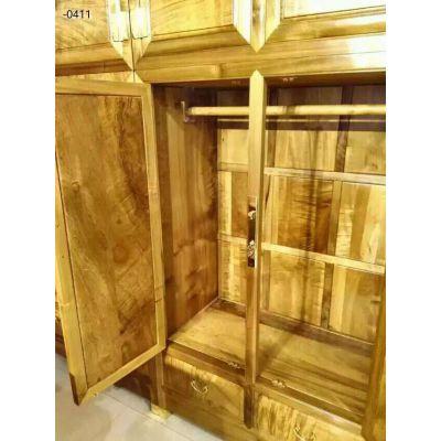 名琢世家精品金丝楠古典中式家具顶箱衣柜价格图片