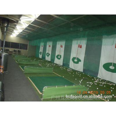 供应公司员工休闲高尔夫培训陪练器材器具  高尔夫挥杆练习打击笼