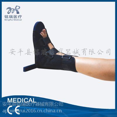 厂家直销 新品丁字木板鞋 脚部扭伤康复固定护具 脚踝矫正 防璇鞋 脚部固定铭瑞