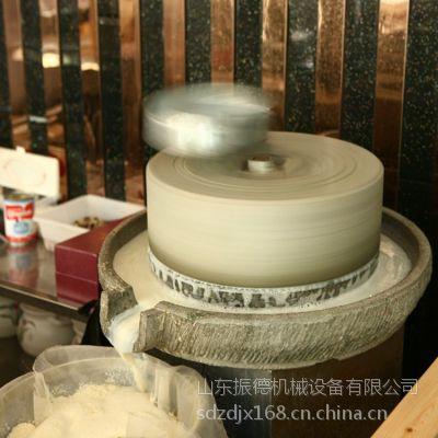 振德牌香油石磨机 电动石磨豆浆机 移动方便