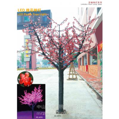 供应供应LED桃花树.LED樱花树.LED仿真树灯