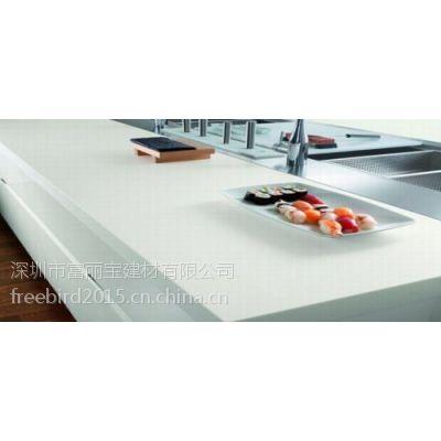 深圳人造石加工厂家供应亚克力厨房台面 整体厨房定制餐厅家具