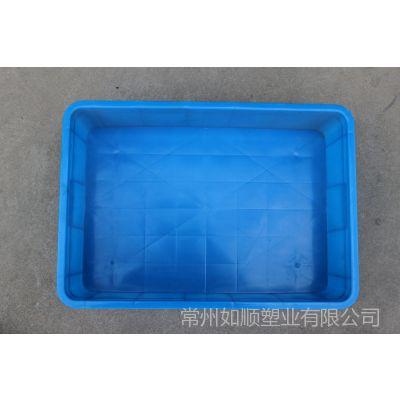 供应塑料箱 周转箱 可配盖塑料箱 575-140塑料周转箱 实力塑料箱工厂