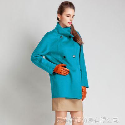 欧美2015风衣女式秋季新款女装欧美修身中长款春秋外套大牌正品