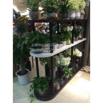大沣DF-032专卖店精品店超市木制盆景植物货架展示柜