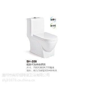 潮州超旋式连体卫浴马桶厂商推荐,尚好佳卫浴是:潮州品牌马桶价格