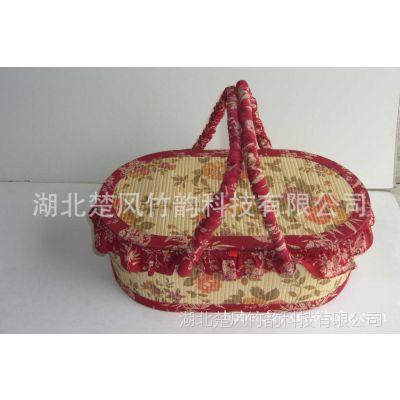 安吉竹制 月饼礼盒 水果篮 烘焙包装 竹盒 特产 礼盒 竹篮编织篮