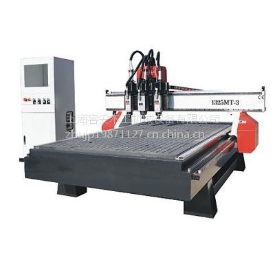 木工设备厂家出售、高效率三工序雕刻机、全自动数控开料中心、木门平面雕刻机