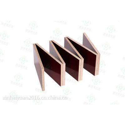 深圳鑫海源高品质 柳桉木建筑模板/菲林板/小红板/进口木枋 可重复多次使用