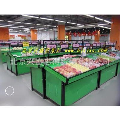 供应北京超市蔬菜架 水果架子 果蔬架