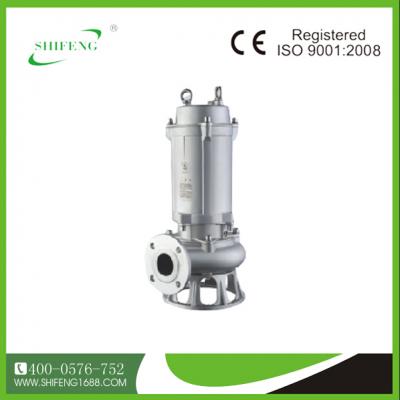 实丰WQ(D)-S系列全不锈钢污水污物潜水电泵(国际法兰)(全精铸)
