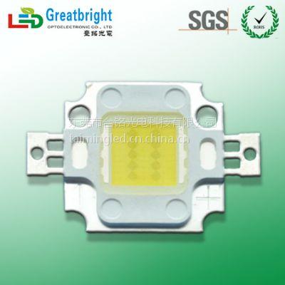 10W集成大功率LED白光正白暖白选择台铭光电